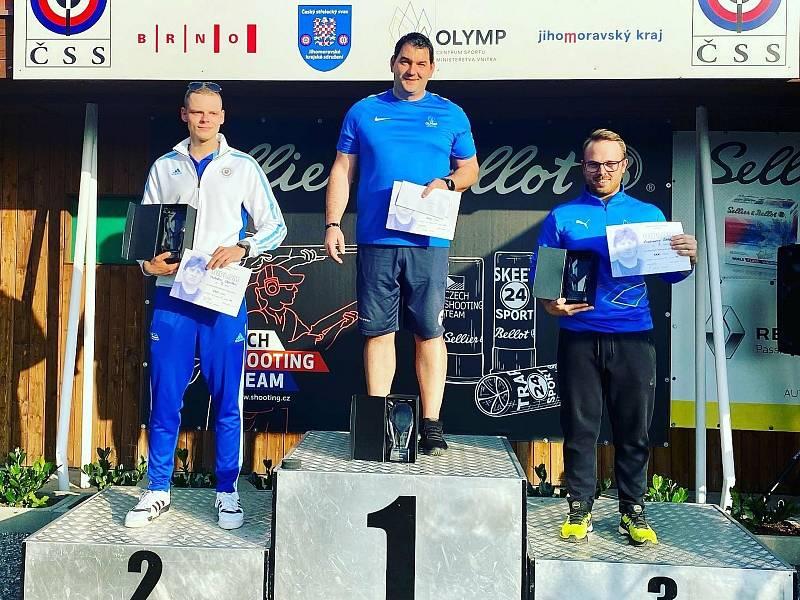 Jiří Lipták vyhrál Memoriál Miloslava Bednaříka v trapu, druhý skončil Michal Slamka ze Slovenska a třetí Vladimír Štěpán.