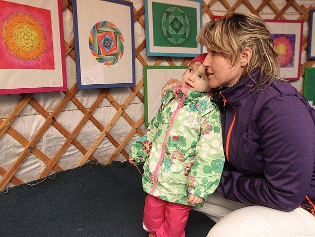 Putovní výstava Mandala dětem v Brně.