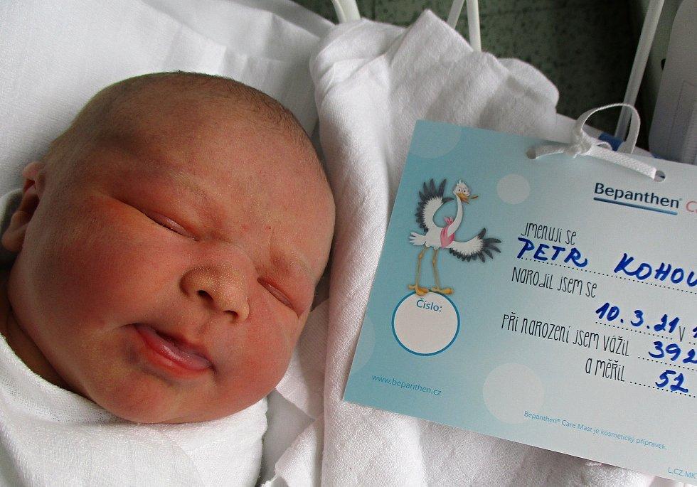 Petr Kohout, 10. 3. 2021, Nemocnice Břeclav, 3920 g, 52 cm