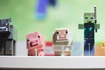 Počítačová hra Minecraft. Ilustrační foto.