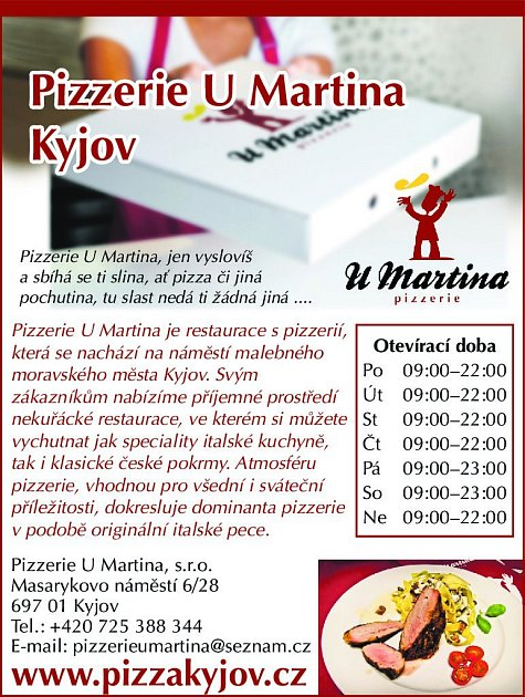9. Pizzerie UMartina Kyjov