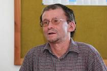 Předseda organizace Děti Země Miroslav Patrik.
