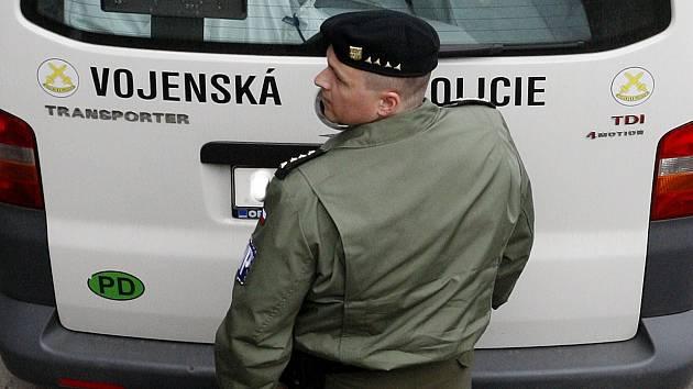 Vojenská policie. Ilustrační foto.