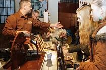 V brněnské Malé Americe v pátek začal čokoládový festival. pokračuje do neděle.