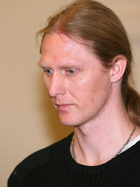 Martin Andel u brněnského soudu.