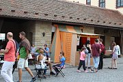 Na děti čekala v neděli na brněnském Špilberku, který žije řemeslem, spousta her a zábavy.