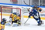 Hokejisté Komety si poradili na domácím ledě se Zlínem.