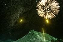 Záběry polární záře, skutečný i digitální ohňostroj. Brněnská hvězdárna připravila unikátní světelné představení. Je zároveň pozvánkou na dvacátý ročník festivalu ohňostrojů  Ignis Brunensis.