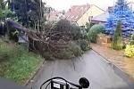 Následky úterní večerní bouřky a silného větru likvidovali jihomoravští hasiči i v Brně a na Brněnsku.
