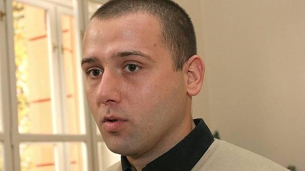 Martin Korec u soudu.