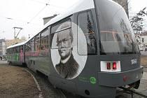 Oslavy 190 let od narození Gregora Johanna Mendela zahájil starobrněnský opat Lukáš Evžen Martinec slavnostním požehnáním Mendelovy tramvaje.