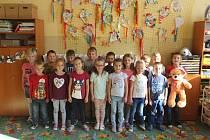 Žáci třídy 1.A ZŠ Střelice