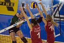 Volejbalistky KP Brno změří síly s hvězdným Lokomotivem Baku.