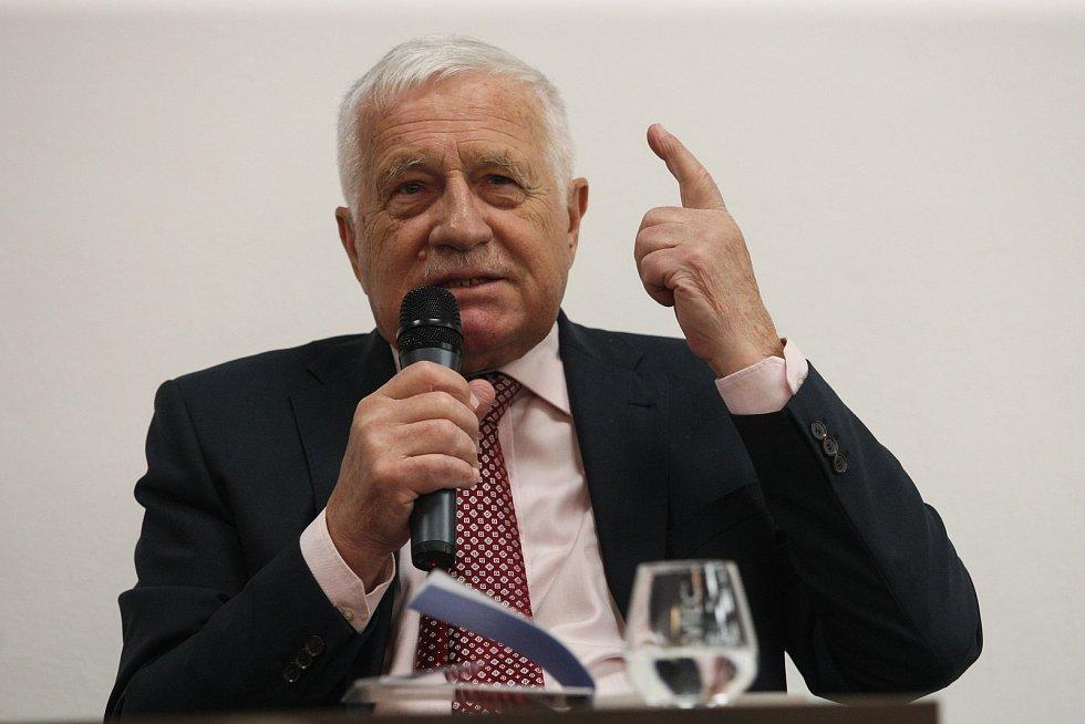 Bývalý prezident Václav Klaus.