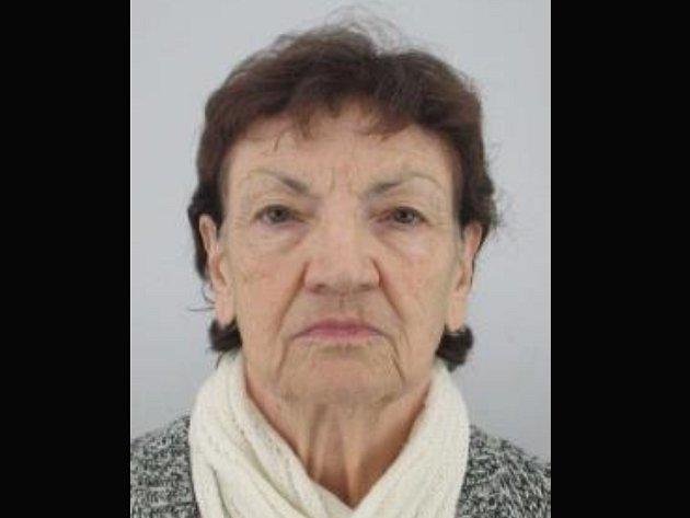 Pohřešovaná důchodkyně s Alzheimerovou chorobou Ludmila Vedrová.