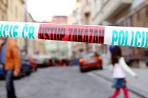 Policejní páska - ilustrační foto.