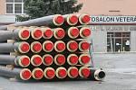Práce v brněnské ulici Dornych.