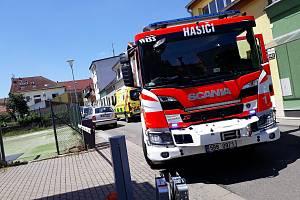 Hasiči zasahovali u čtvrtečního požáru rodinného domu v brněnském Králově Poli.