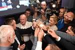 Takto slavilo brněnské ANO volební úspěch a vítězství v Brně. Nyní jim zhořkne.