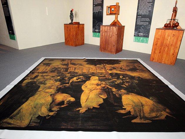 Unikátní výstava odhalí vynálezy Leonarda da Vinciho