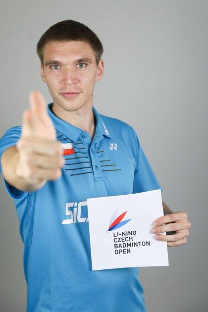 Mezi největší domácí naděje na mezinárodním mistrovství České republiky vBrně bude patřit tvář turnaje, badmintonista SK Brno Slatina Milan Ludík.