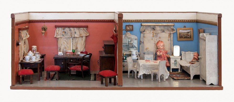Končící výstava Na návštěvě u panenek