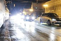 Meteorologové varují před kluzkými silnicemi, ilustrační foto