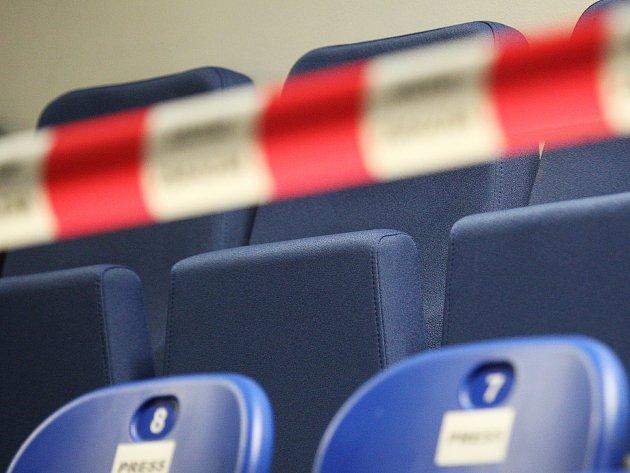 Tento týden skončily práce, při kterých dělníci navýšili kapacitu brněnské DRFG Areny zhruba o pět set míst. Nové tribuny vyrostly v rozích stadionu.