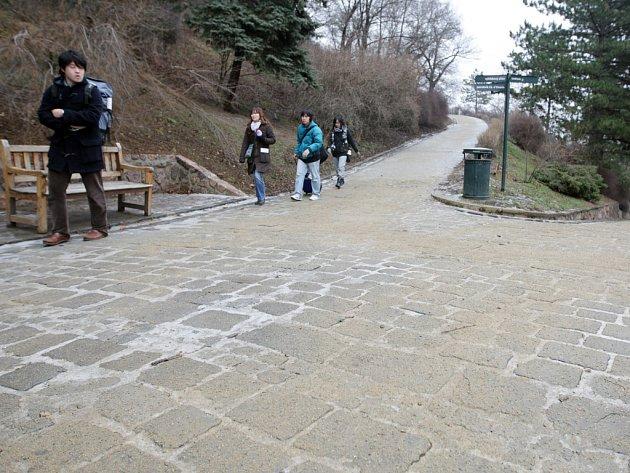 Cesta na Špilberk
