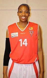 Americká basketbalistka Chloe Kerrová.