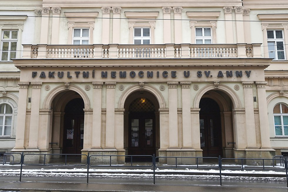 Fakultní nemocnice u sv. Anny v Brně.