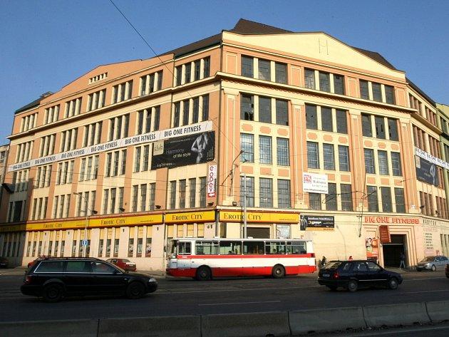 Areál bývalého brněnského textilního podniku Vlněna. Ilustrační foto.