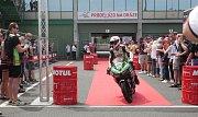 Mistrovství světa superbiků 2018 v Brně.