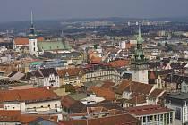 Ilustrační: Brno-letecky