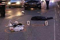 Šestapadesátiletou chodkyni v Černovické ulici v Brně srazilo auto. Nepřežila.