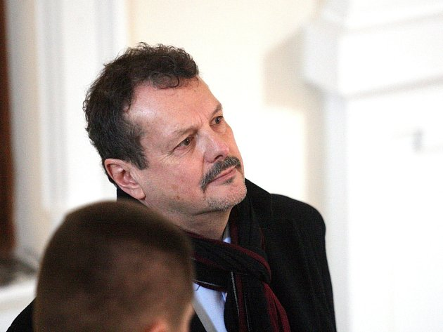 Jaroslav Přikryl u Krajského soudu v Brně.
