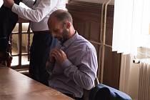 Martin Vlček, který 22. září 2017 zastřelil svého známého ve vlaku.