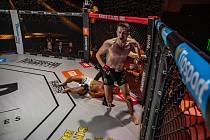 Galavečer smíšeného bojového umění MMA v Brně zvládli pořadatelé i přes přísná hygienická opatření.