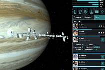 Záběry z počítačové hry Exospace.