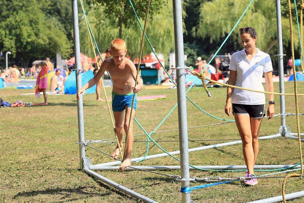 Sportovní park na Riviéře.