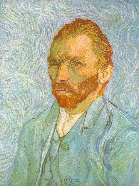 Vincent van Gogh - autoportrét.
