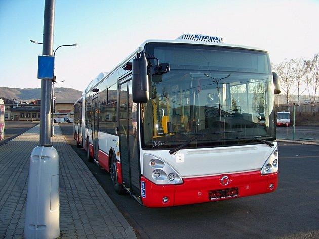 Autobus na plyn - ilustrační foto.