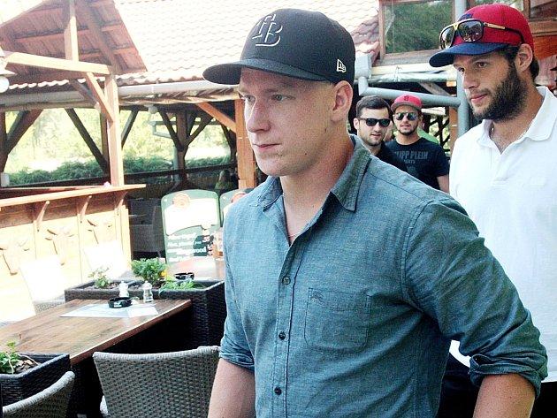Hokejový útočník Ondřej Palát.