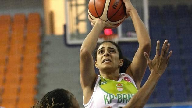 Egyptská basketbalistka Reem Moussová.