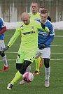 FC Zbrojovka Brno podlehla FC MAS Táborsko (modrá) 1:4