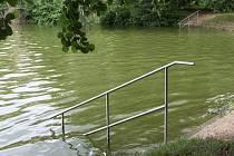 Brněnská přehrada ve čtvrtek 19. července 2018.