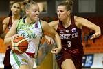 Basketbalistky Králova Pole přemohly  jednoho z favoritů na celkový triumf Reyer Benátky 66:64.