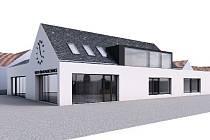 V architektonické soutěži na novou radnici a hasičskou zbrojnici v Moravských Bránicích zvítězilo mezi devětatřiceti návrhy studio Apropos Architects.