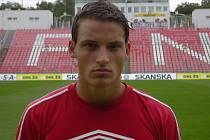 Fotbalista David Pašek