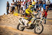 Jan Brabec na Dakaru.